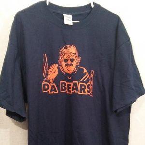 "Chicago Bears ""Da Bears"" T Shirt XL Dark Blue"